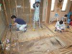 杉並区戸建て キッチン工事 施工中 その2.jpg